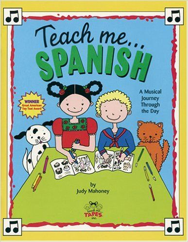 Teach Me Spanish (Paperback and Audio CD): A Musical Journey