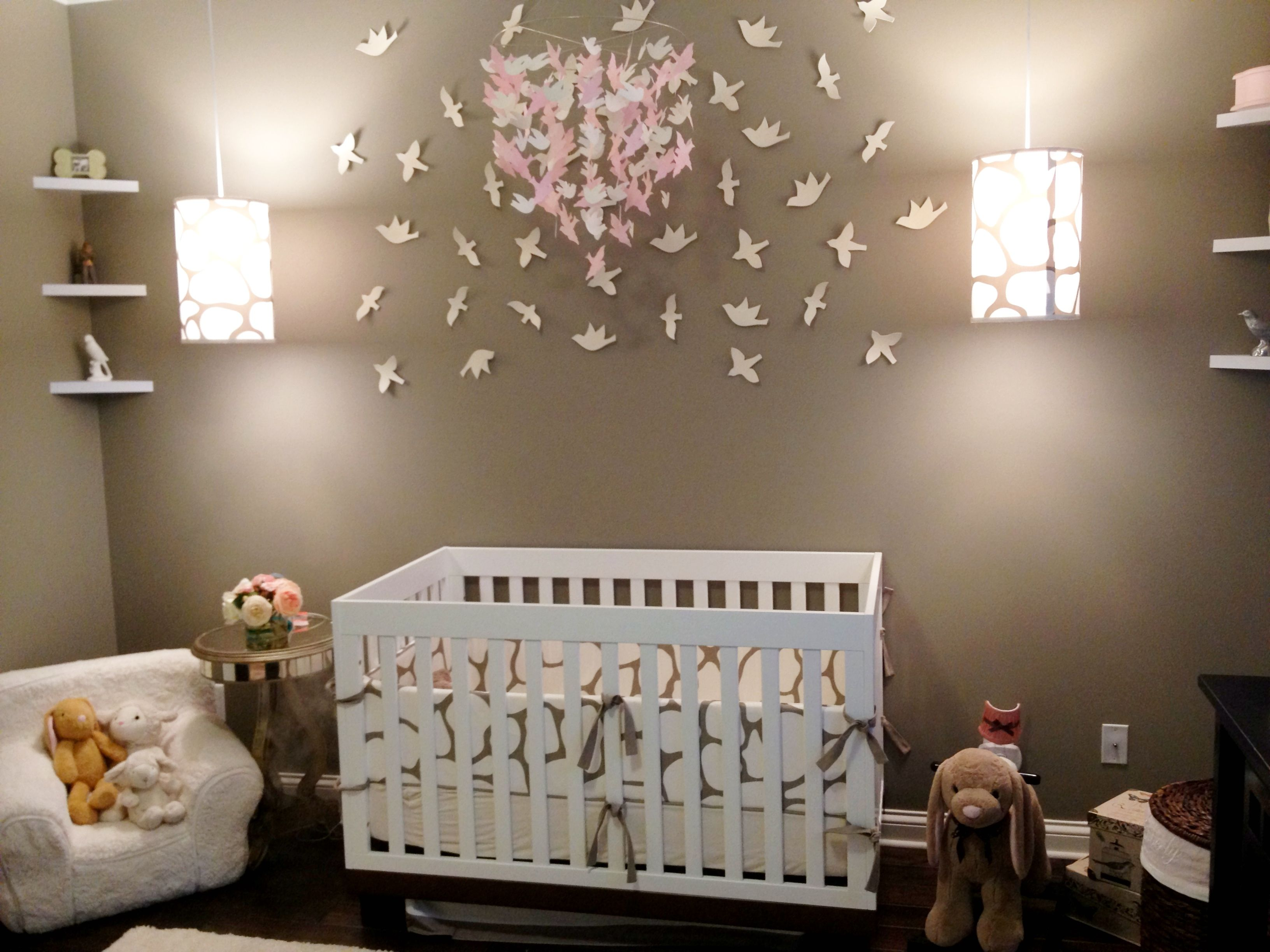 Pottery Barn Kids Birds- Target (DIY Paint Job