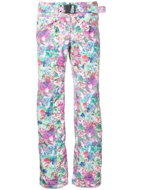 Pantalons Femmes - Kru  Floral Print Ski Trousers