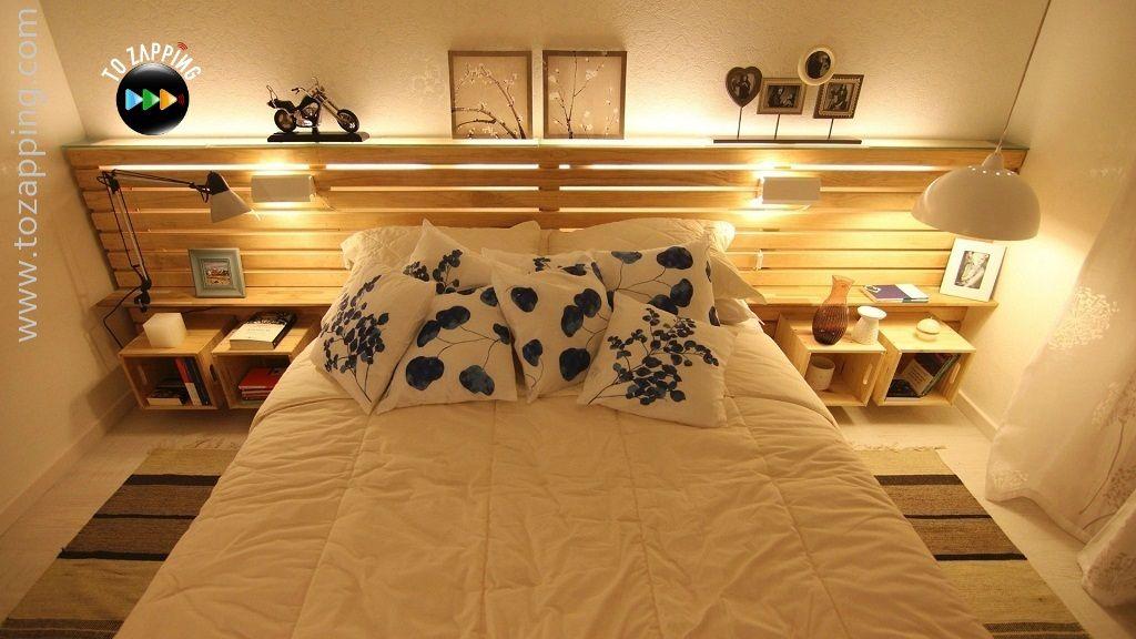 Cmo hacer cama con palets Tozappingcom Pinterest Bedroom