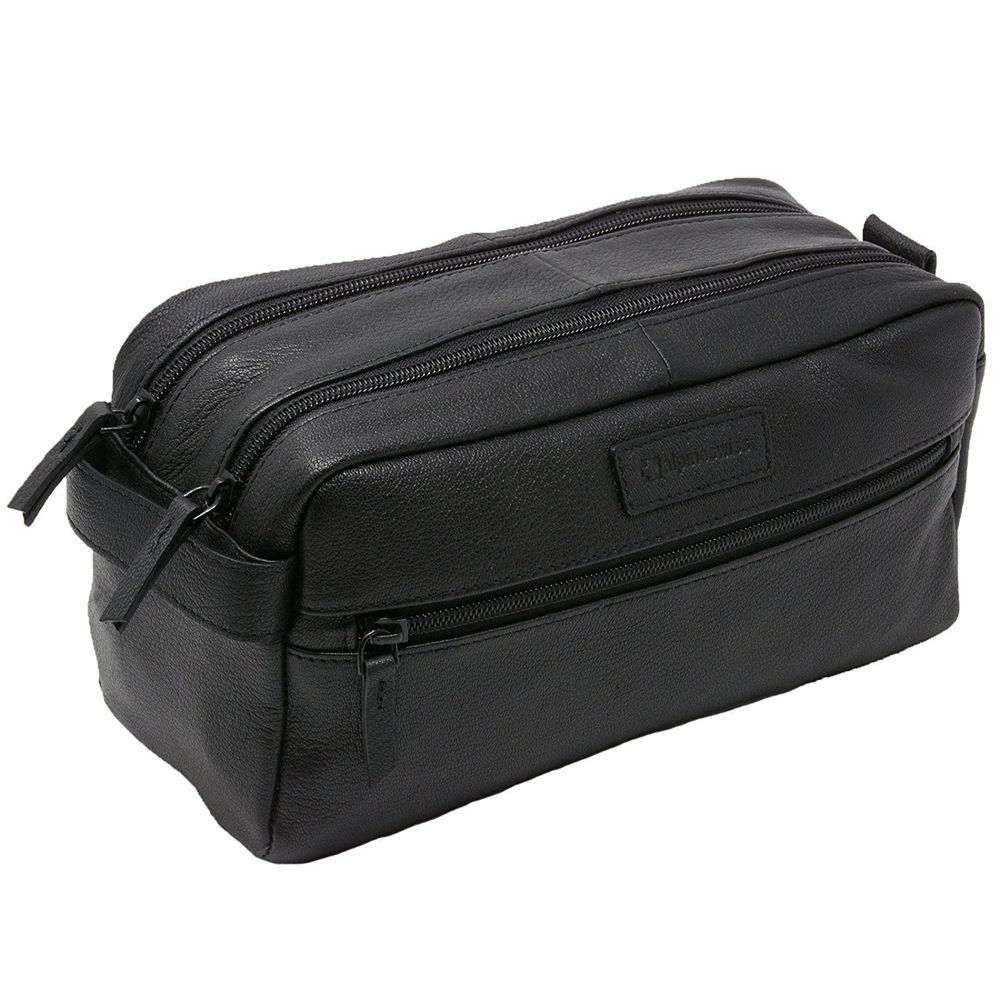 3328c9ca4cd5 Leather Travel Organizer Durable Elegant Men Toiletry Bag Dopp Kit Cosmetic  Bag  LeatherTravelOrganizer  ToiletryBag