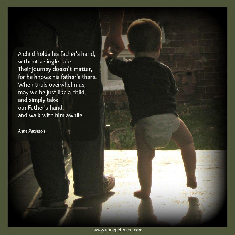 Walking Hand In Hand Poem