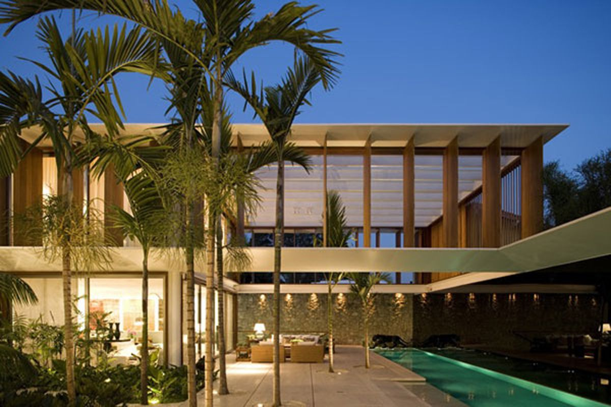 Architecture fascinating tropical house design inspiration for Modern tropical house design