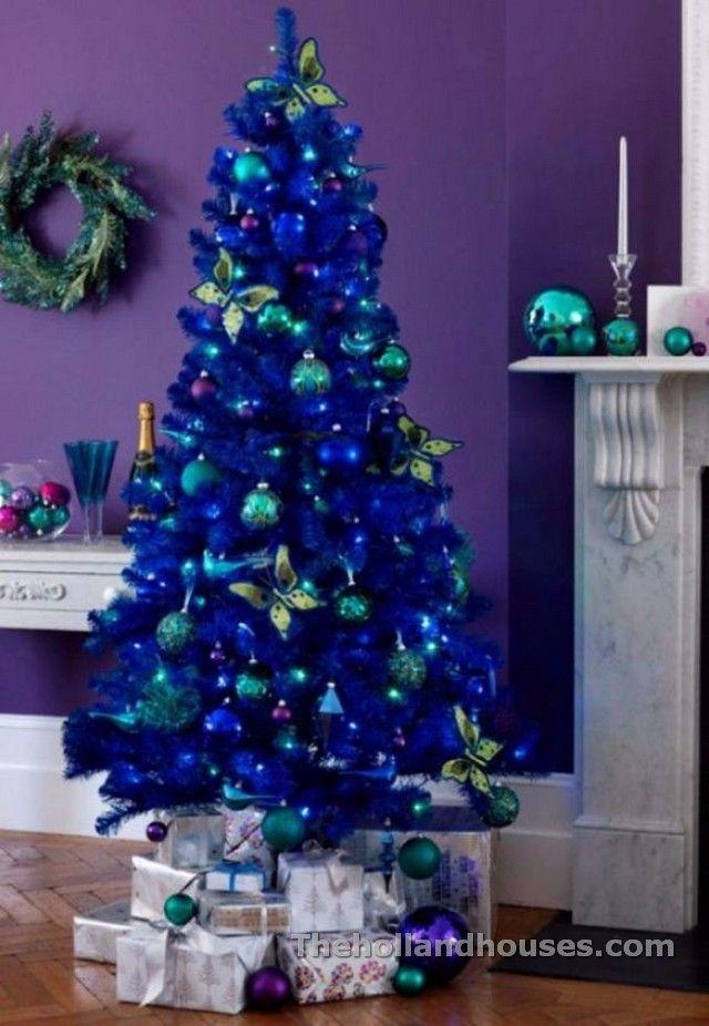 Blue Christmas Decorations Ideas Christmas Decoration Pinterest - blue and silver christmas decorationschristmas tree decorations