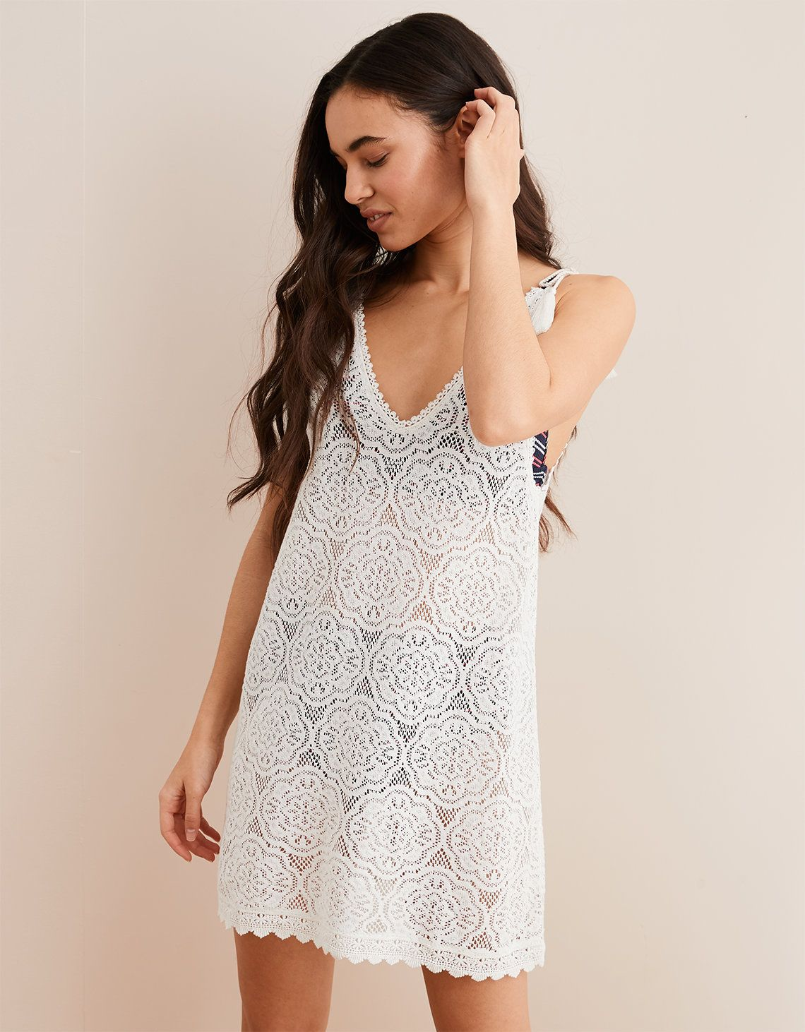 Aerie Lace Slip Dress White American Eagle Outfitters Lace Slip Dress Slip Dress Lace Slip [ 1462 x 1140 Pixel ]
