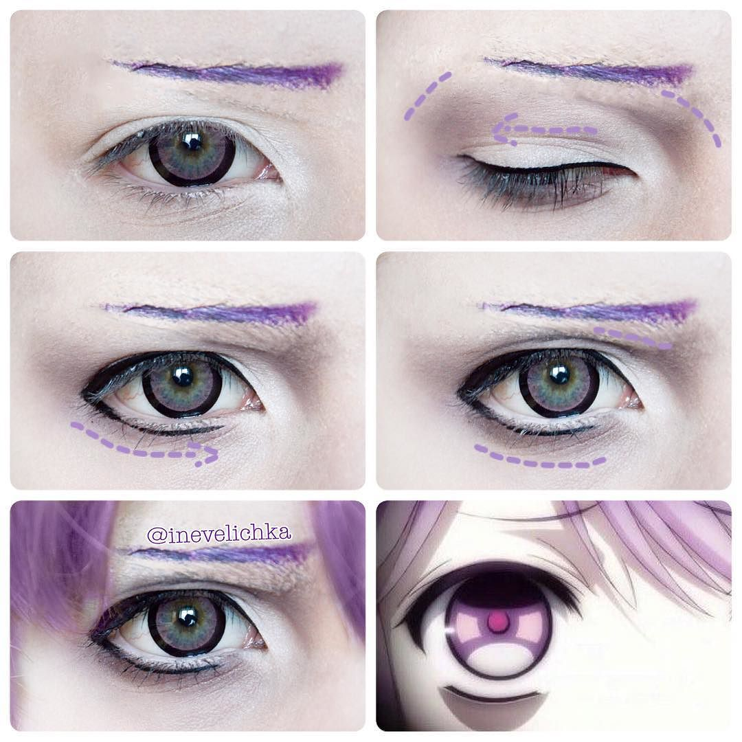 Kanato Sakamaki Makeup Tutorial Cosplay Makeup Tutorial Anime
