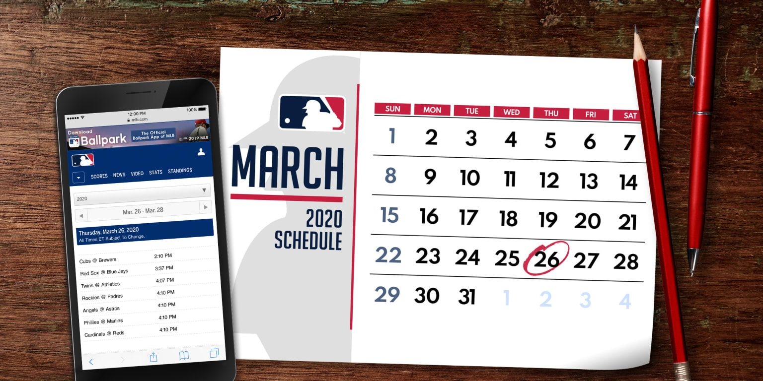 Mlb Has Released The 2020 Regular Season Schedule There Are A Lot Of Dates You Ll Want To Circle On Your Calendars Minute Maid Park Mlb Games Christian Yelich