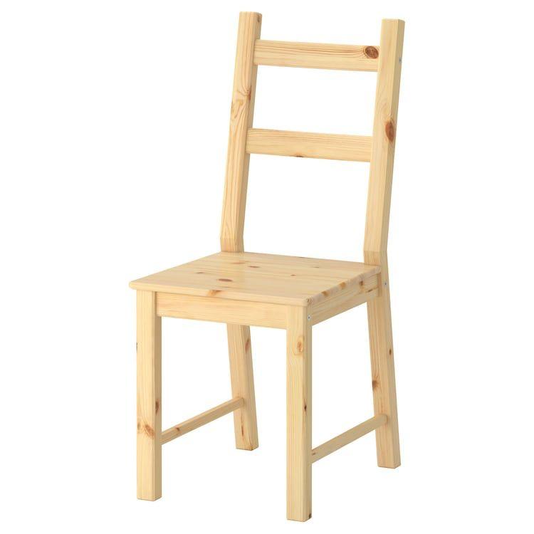 IVAR Chair - pine nel 2020 | Sedia ikea, Sedia rustica ...