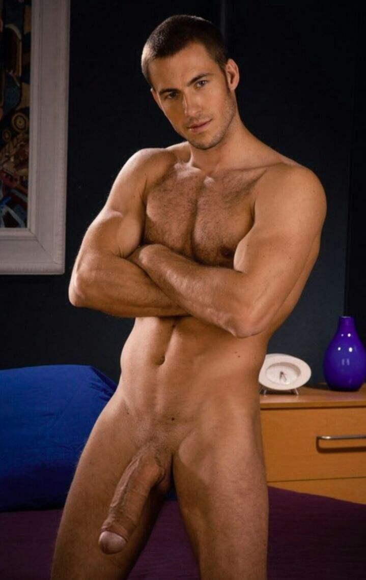 Hot uncut men
