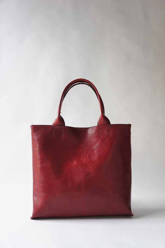 6998b68095fc The Stella Bag Italian Leather Red by stitchandtickle on Etsy ...