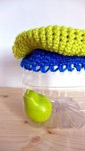 Crochet bag Creative recycling. Recycled Plastic Bags- Borsa…