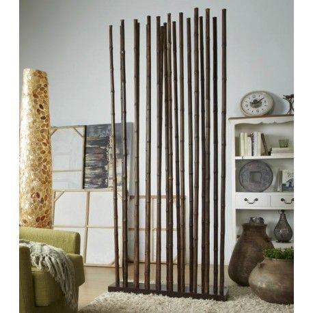 separador ambientes caas bamb marrn - Separador De Ambientes