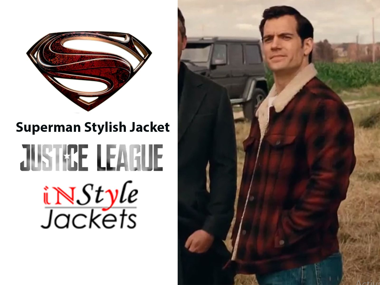 Superman Justice League Stylish Jacket Justice league