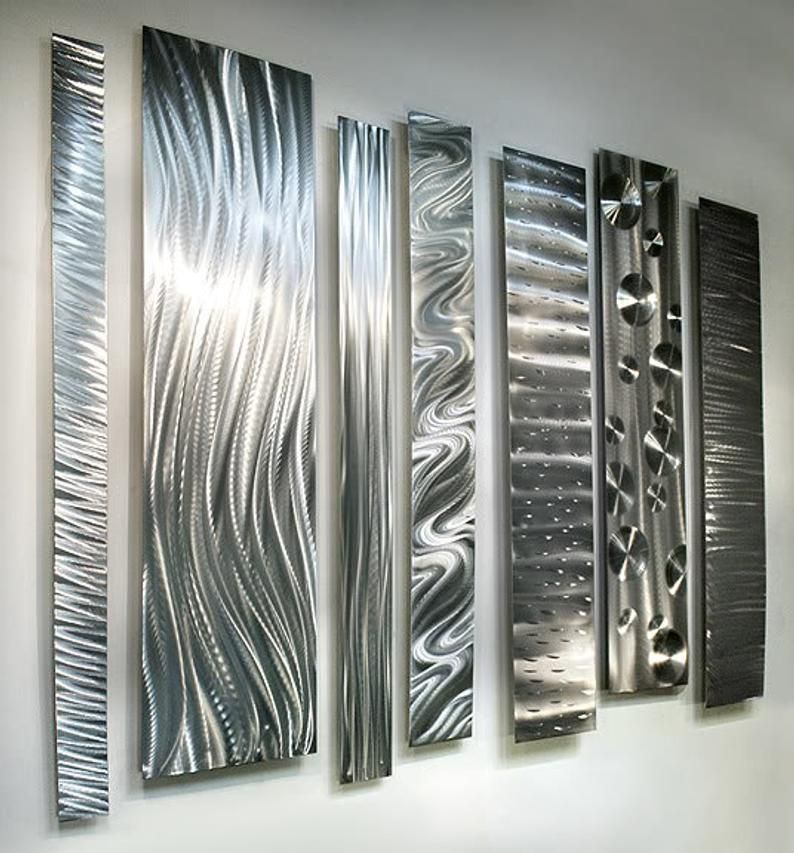 Large Metal Wall Art Modern Metal Art Wall Sculpture Abstract