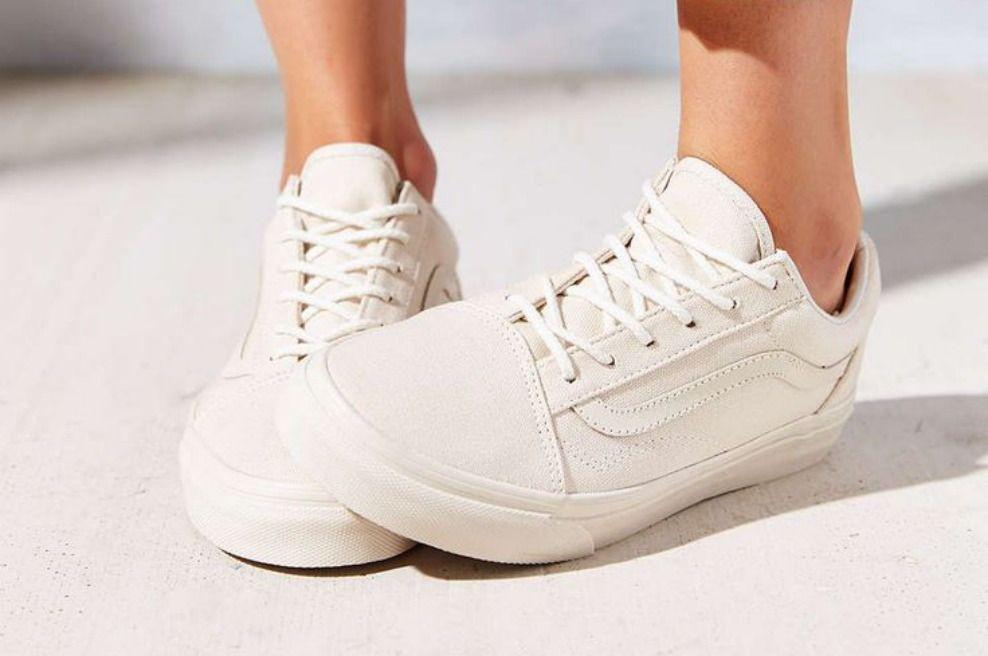 Tenis Blancos Como La Nieve Leather Shoes Woman Womens Sneakers Vans Shoes