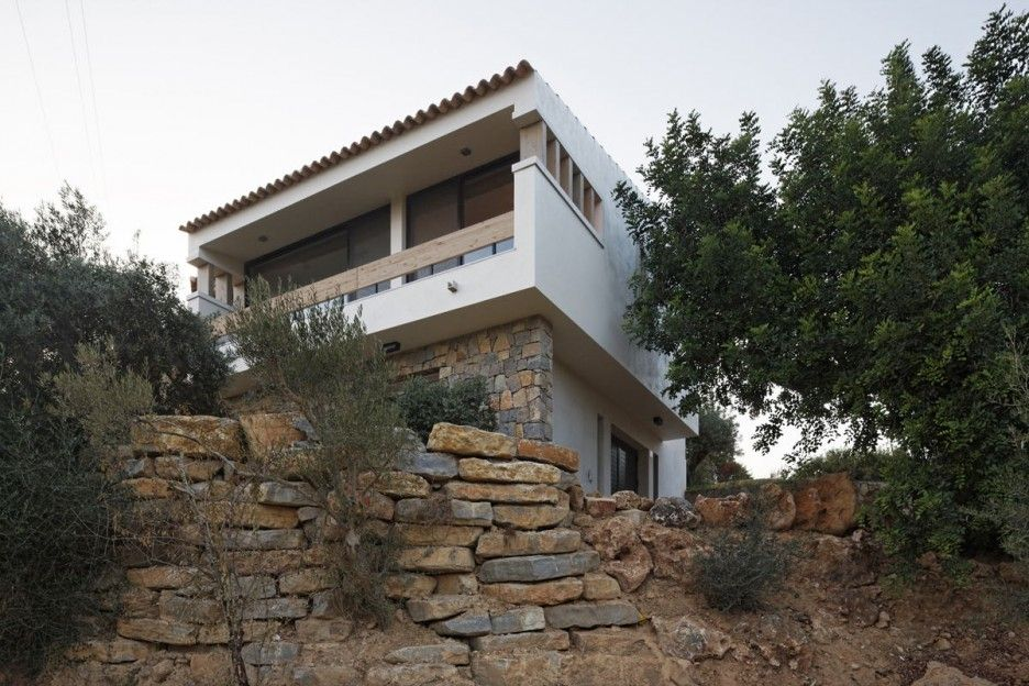 Amazing holiday home designs exterior design of modern architecture from front side also rh pinterest
