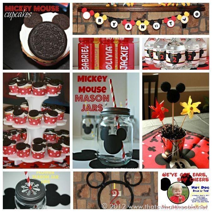 Mickey Mouse Birthday Party. Yo quiero una así!