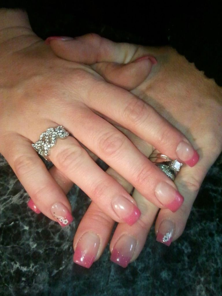 Pink French. By Jena Greyeyes in Hurricane, UT (With