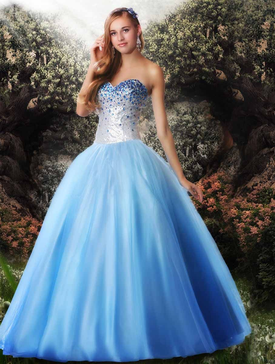 Disney Forever Enchanted Prom 35538 The fabric in this Disney ...