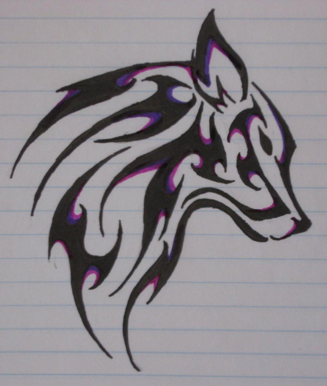 Wolf Tribal Tattoo Tumblr Google Search Dibujos Tribales