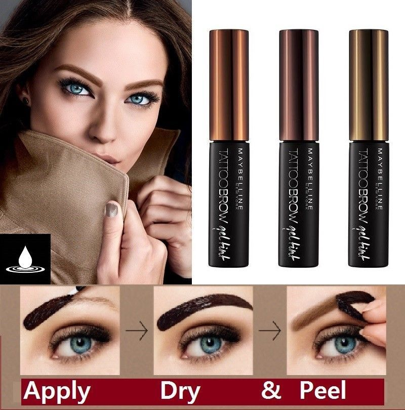 Details about MAYBELLINE TATTOO BROW GEL TINT 5ml Eyebrow