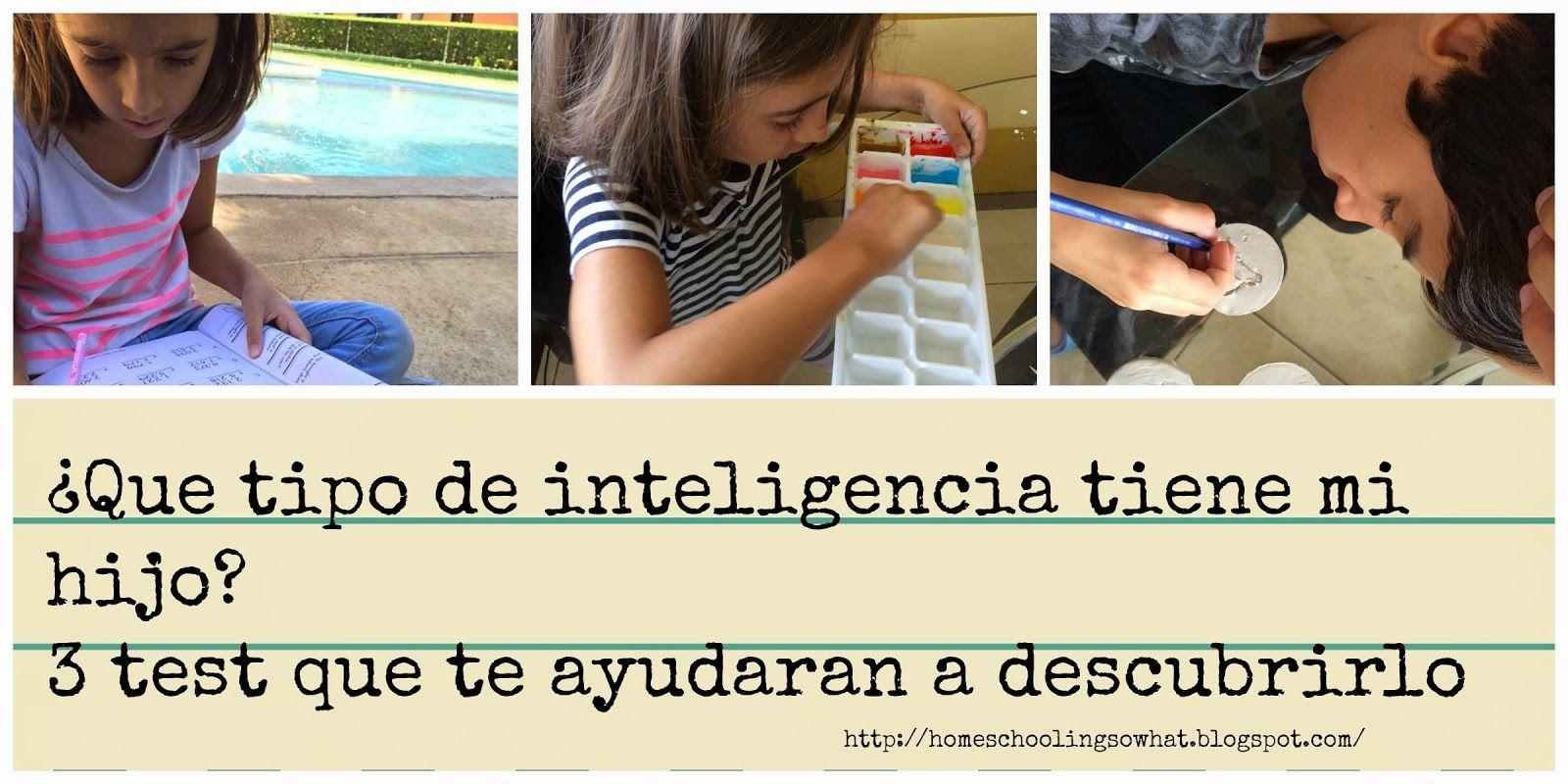 Inteligencias múltiples. 3 test para descubrir que inteligencia tiene tu hijo