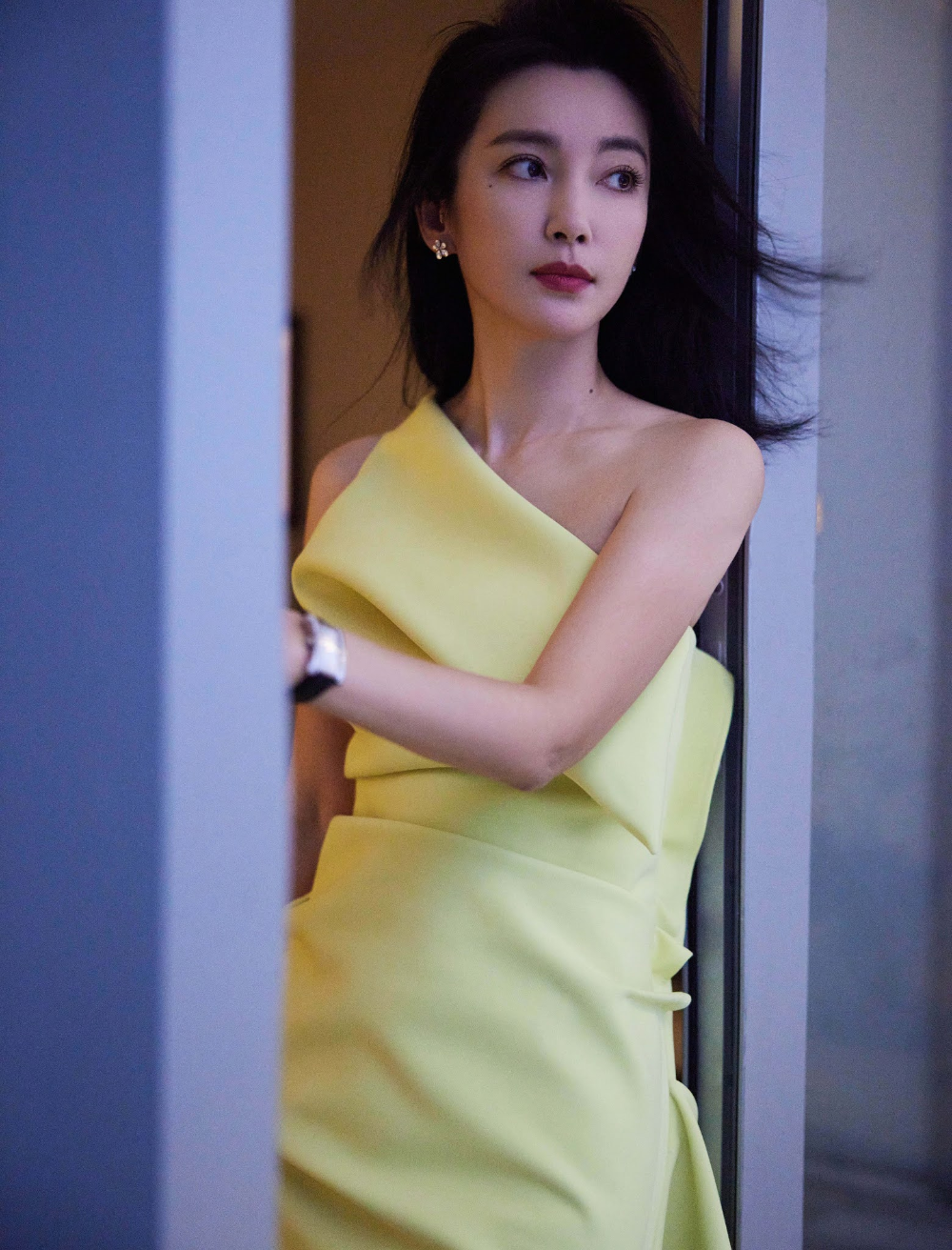 An Yuexi poses for photo shoot   China Entertainment News