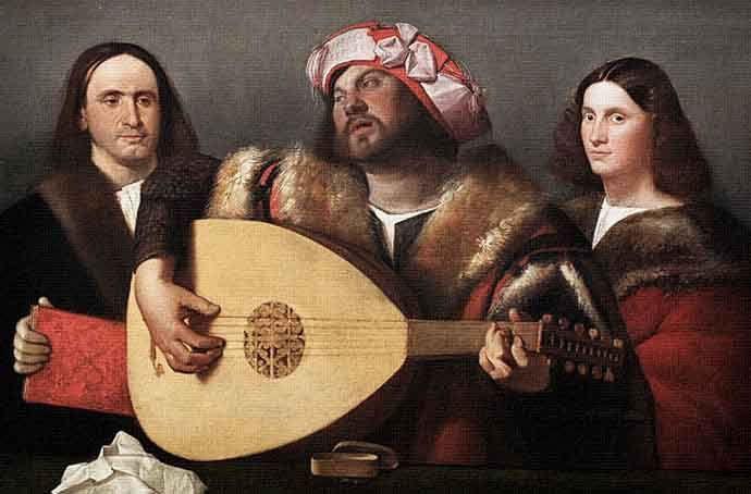 Pintor Giovanni Busi Cariani, nacido en Venecia, Italia, 1485-1547.