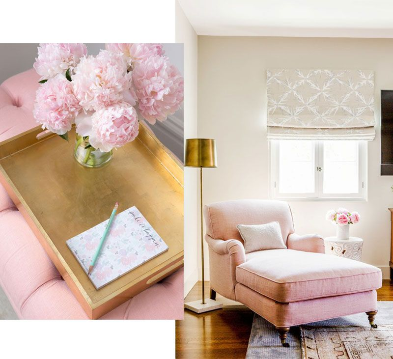 Attractive Pink Upholstery Can Give Tired Furniture A New Lease Of Life; Pair Your Rejuvenated  Furniture