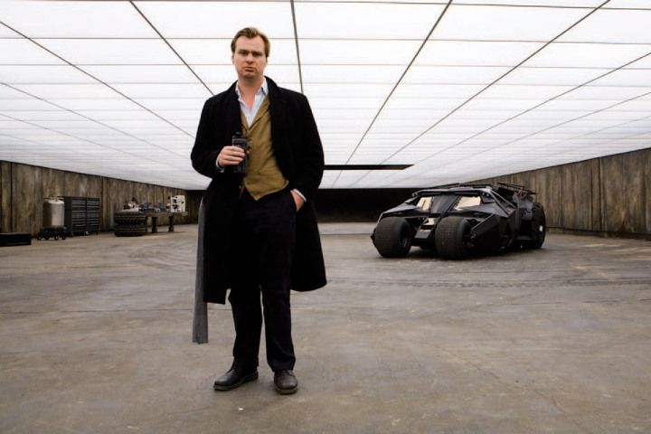 Behind The Scenes With Batman The Making Of Christopher Nolan S