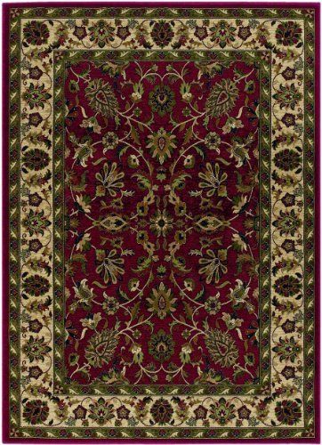 Anatolia 20560010098131t Red Cream By Couristan Rugs 503 64 Anatolia 20560010098131t Red Cream Victorian Rugs Rugs Colorful Rugs