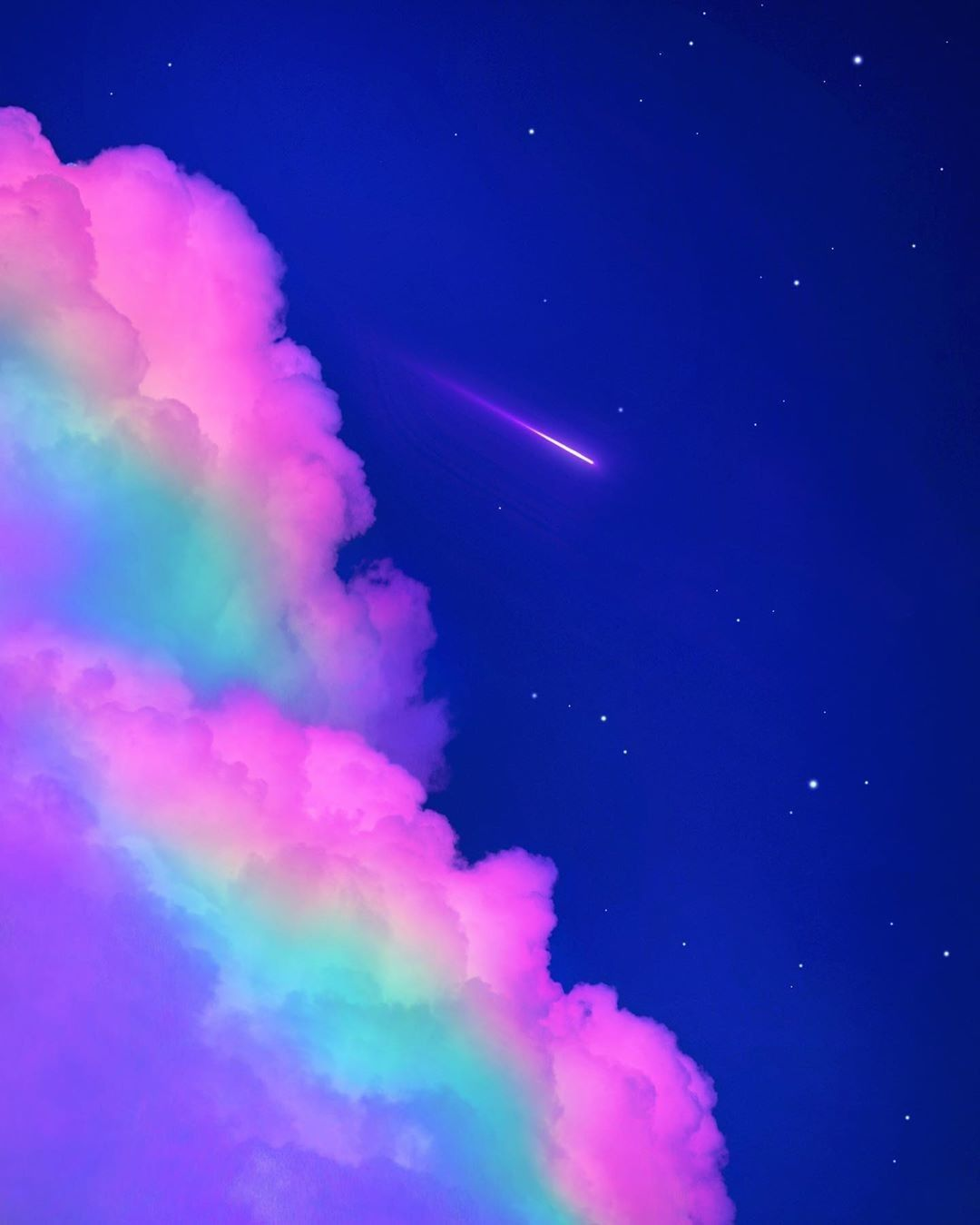 Pin By Jessica Laws Applegate On Cosmos Rainbow Wallpaper Iphone Wallpaper Sky Aesthetic Iphone Wallpaper