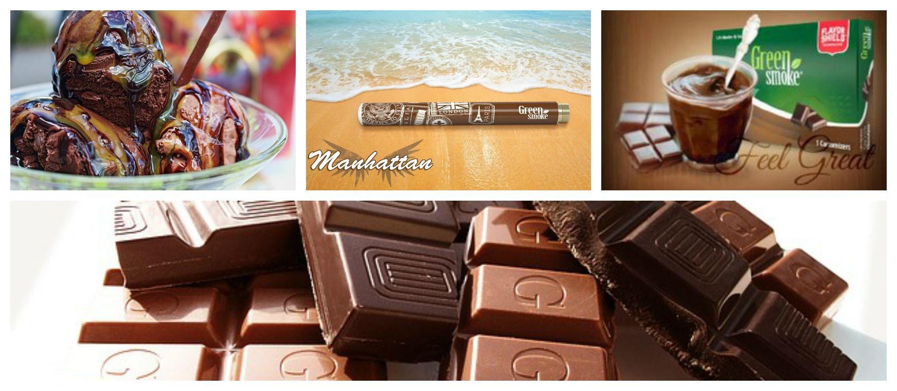 """SMOOTH CHOCOLATE™ - Tämä """"suklaasavu"""" tyydyttää makeannälkäsi – ilman hiilihydraatteja tai sokeria! http://www.green-smoke.fi/summer-delight.html"""