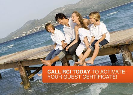 Call RCI today to activate your guest certificate!   Wyndam Travel ...
