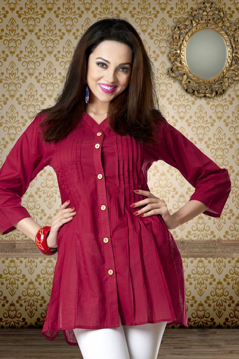 Latest cotton comfort beautiful Indian #kurti shop online with ...