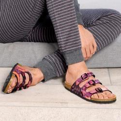 Birkenstock Pantolette Arizona grau-dunkel Damen BirkenstockBirkenstock
