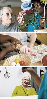 An explanation of how Montessori activities work with Alzheimers patients