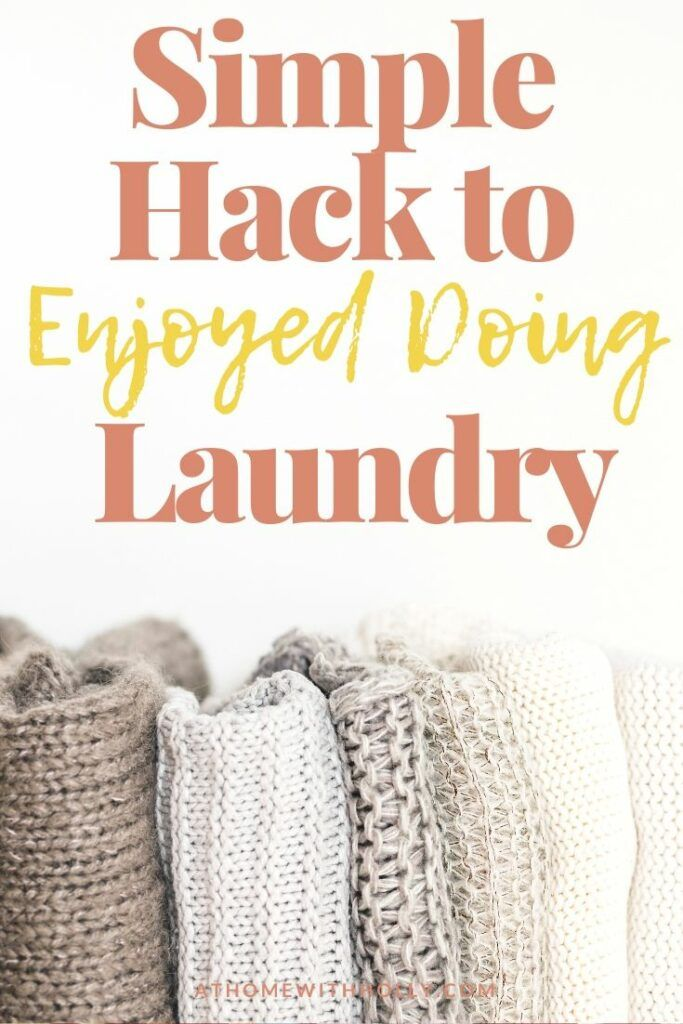 How To Enjoy Doing Laundry in 2020 | Doing laundry ...