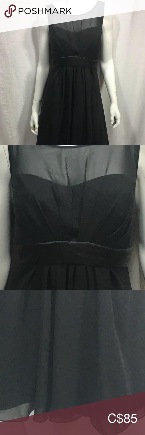 4 35 B2 Little Black Dress 14 Sheer Overlay Lbd Little Black Dress Black Dress Black Dress Size 14 [ 1740 x 580 Pixel ]