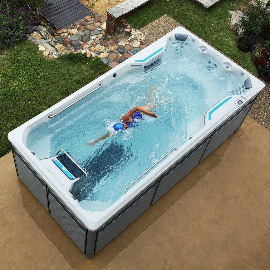 30 000 The E500 Endless Pools Fitness System Provides The Ideal Environment For At Home Total Body Fitness Endless Pool Swim Spa Swimming Pool Pictures