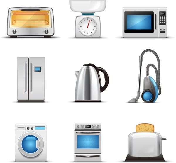 Exquisite Appliances Vector Graphics For Memrise Home