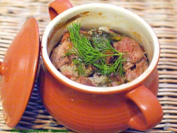 Русское жаркое с мясом | Вкусняшки, Еда, Идеи для блюд