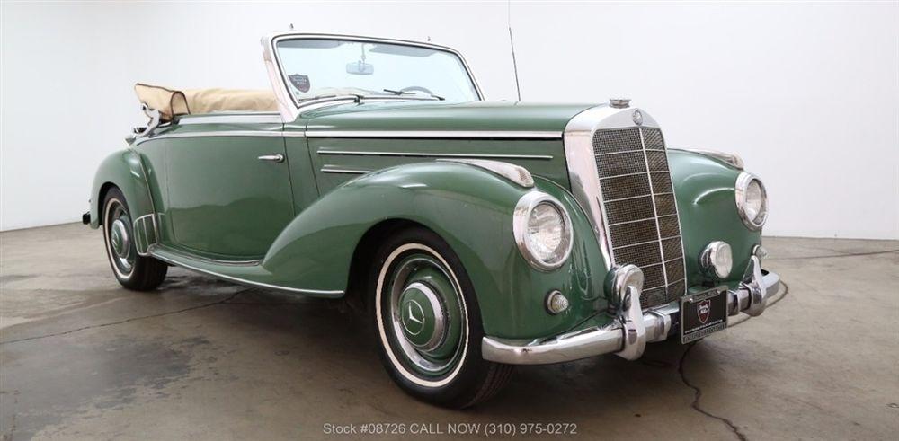 1953 Mercedes-Benz 220 Cabriolet A | Mercedes benz 220, Classic ...