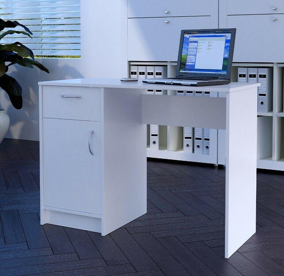 Computer Table Desk Drawer Pc Desktop