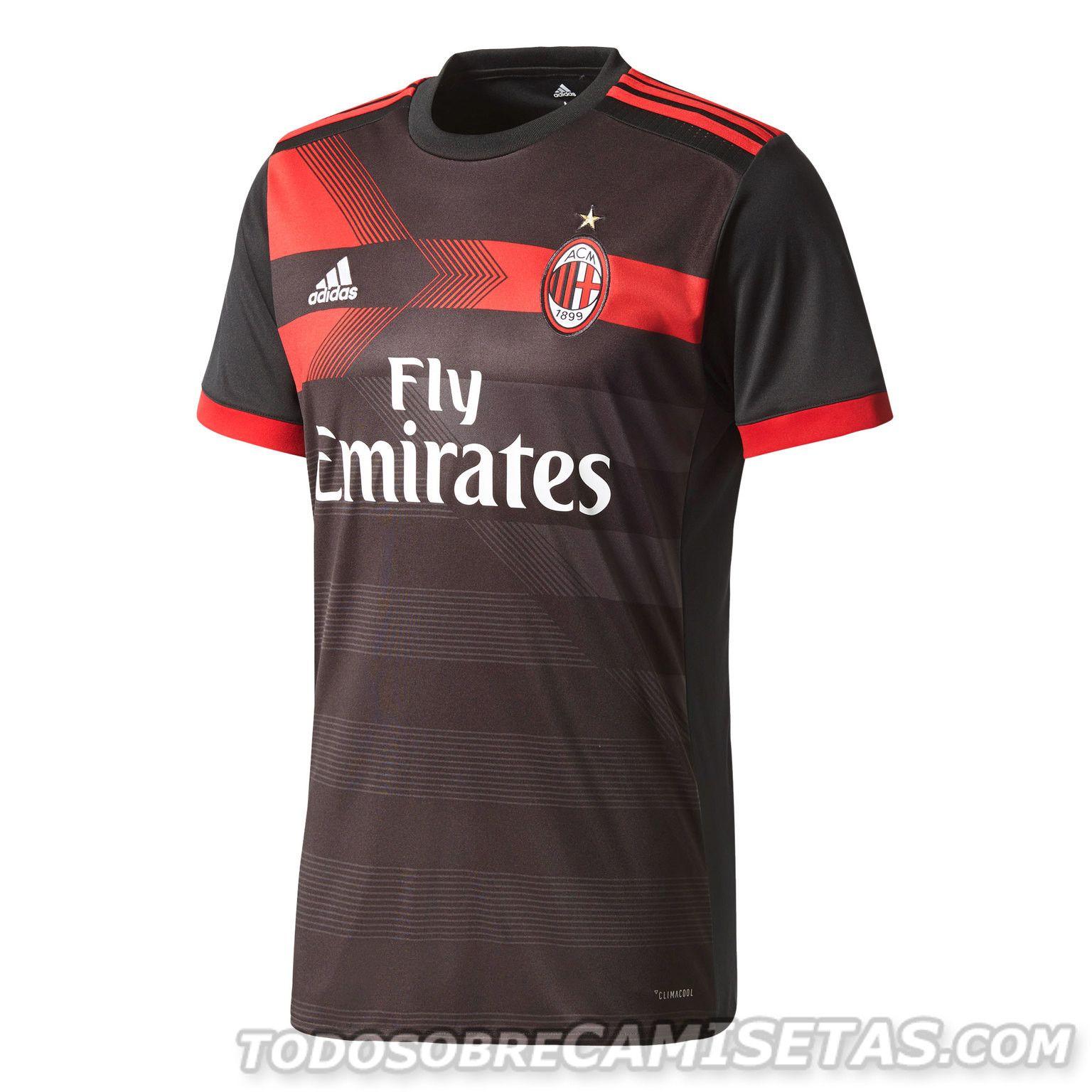 AC Milan 2017-18 adidas third kit  a61844578f6dc