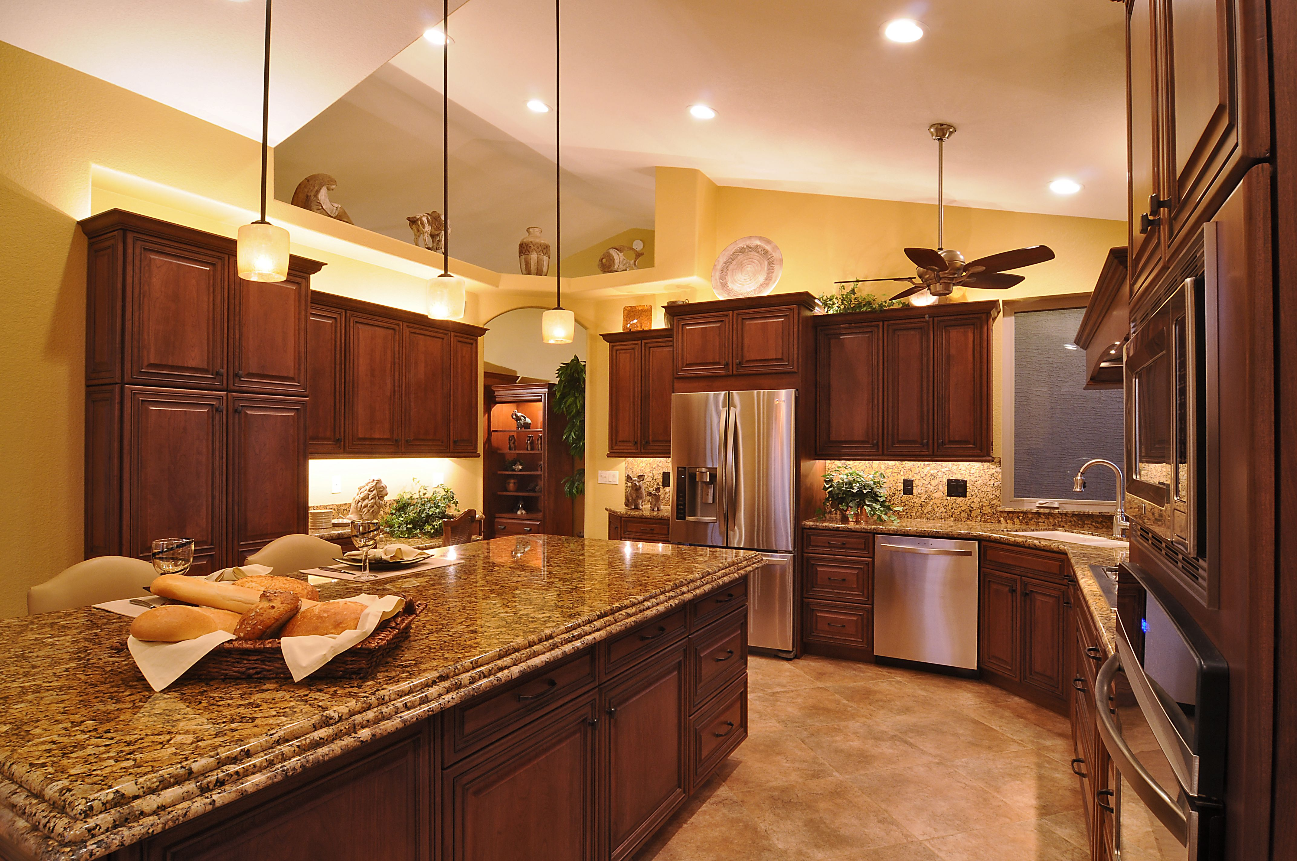 This was a complete kitchen remodel, designed to fit their ...