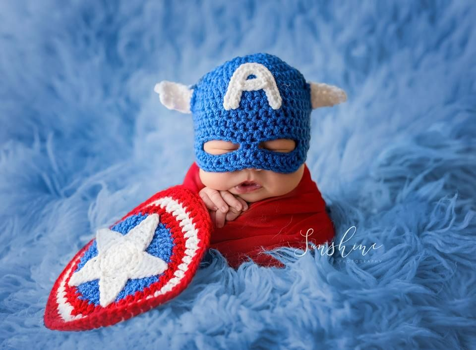 Born ready to save the world.Captain America newborn baby. Superhero ... 385928b4b2a