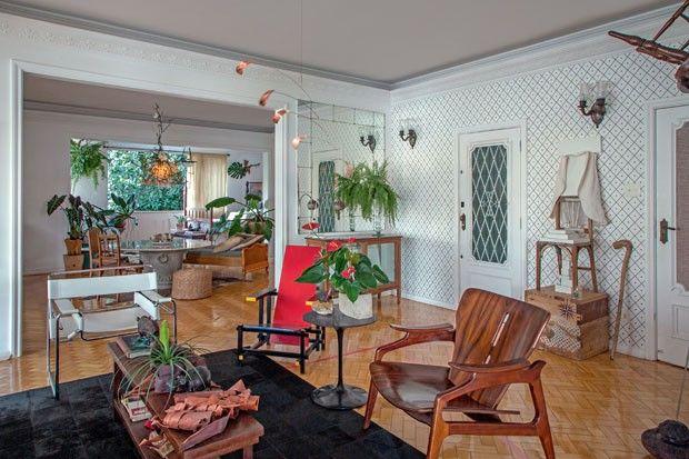 O lar de Fred Gelli, autor do logo dos jogos olímpicos, e Marina Ribas