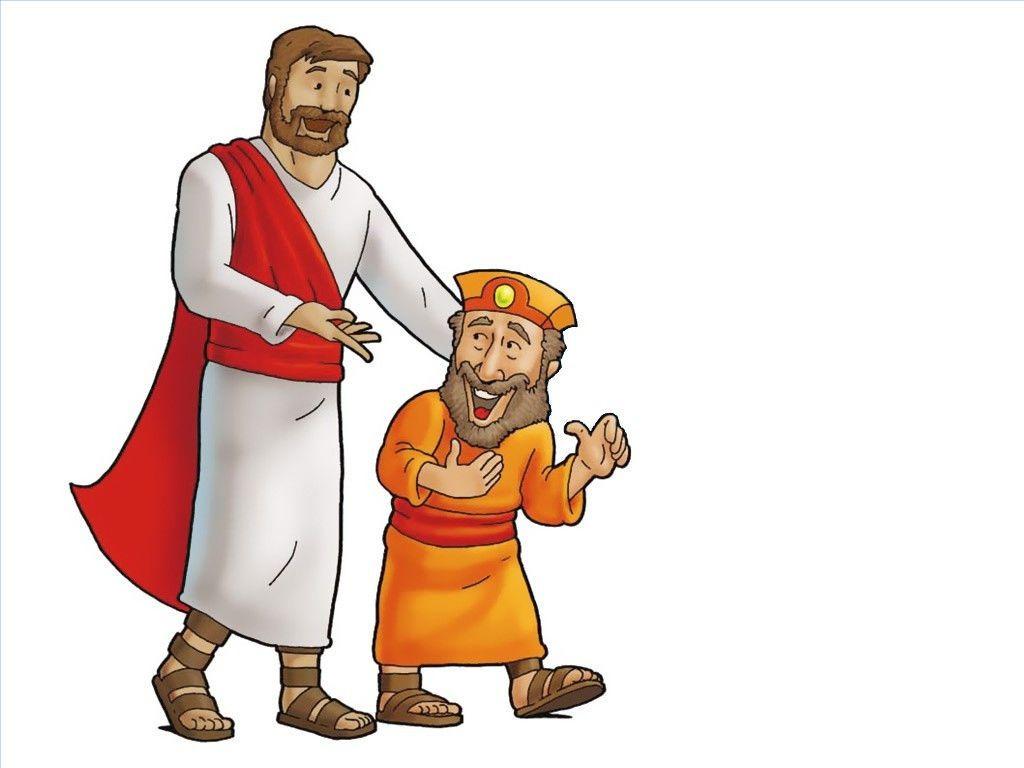 Free Visuals Jesus Meets Zacchaeus