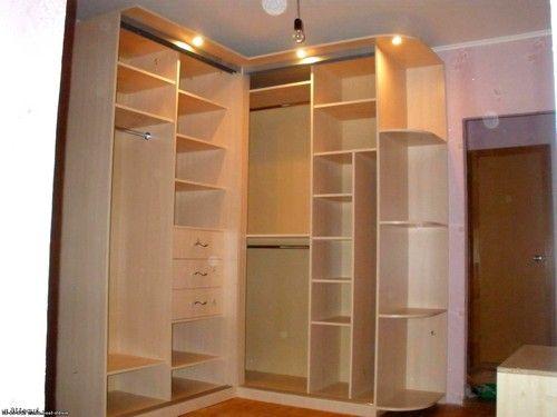 угловой шкаф купе - Поиск в Google | Home | Bedroom ... Дизайн Спальни С Угловой Гардеробной